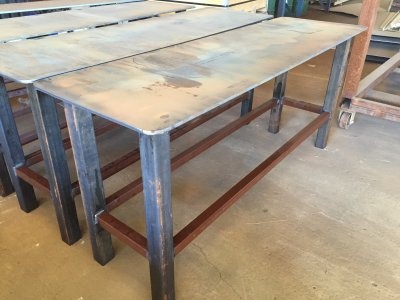 Extreme Heavy Duty Welding Table