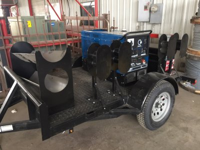 Welding Trailer With Infra Bronco 225