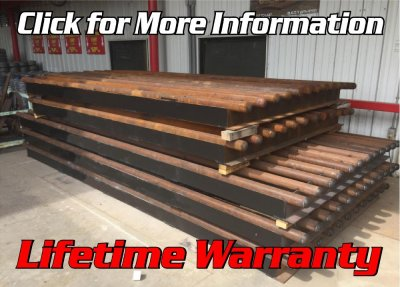 6' X 16' Cattle Guard 50 Ton