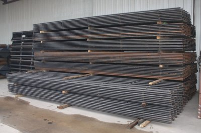 Square Continuous Fence Panels